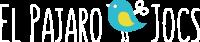 LOGO BLANC El-Pajaro-Jocs
